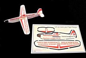 1432 Petrina plane bus card